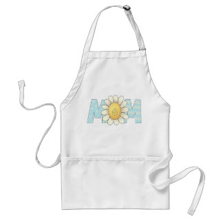 Spring Flowers Mom Adult Apron