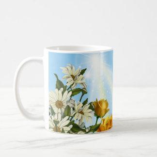 Spring Flowers Classic White Coffee Mug