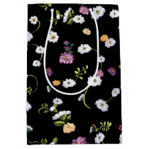 Spring Flowers, Nature Medium Gift Bag
