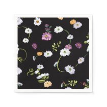 Spring Flowers, Nature Napkin
