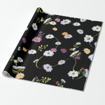 Spring Flowers, Nature Wrapping Paper