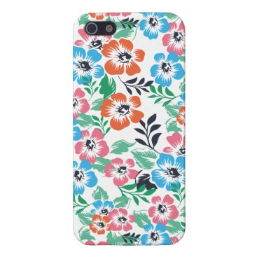 SPRING FLOWERS PATTERN iphone cases