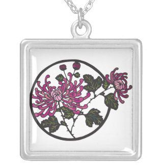 Spring Flowers Peony Necklace