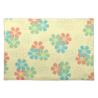 Spring Flowers Cloth Placemat