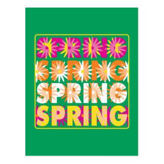 Spring Flowers Postcards