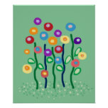 Spring flowers posters