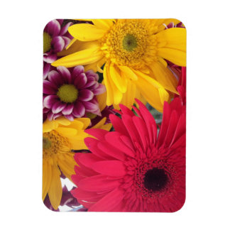 Spring Flowers Rectangle Magnets