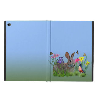 Spring Flowers, Robin,  and Bunny Rabbit Powis iPad Air 2 Case