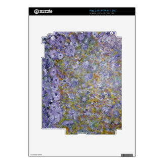 Spring Flowers Skin For iPad 2