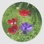 Spring Flowers Stickers