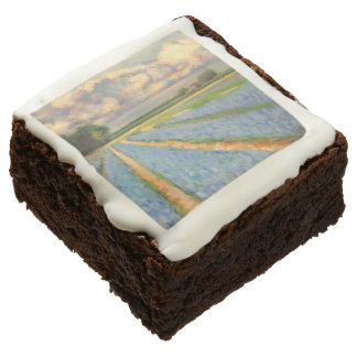 Spring Flowers Triptych picture 3 of 3 Chocolate Brownie