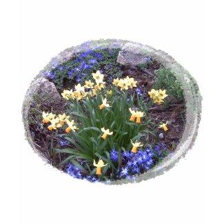 spring flowers shirt