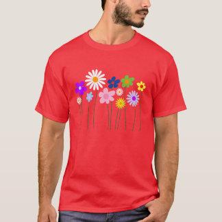 spring flowers tshirt