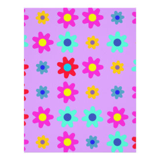 Spring Flowers Vivid Colors Flyer