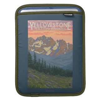 Spring Flowers - Yellowstone National Park Sleeves For iPads
