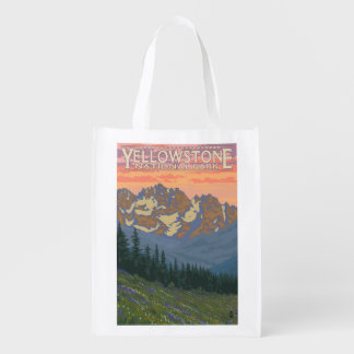 Spring Flowers - Yellowstone National Park Market Totes