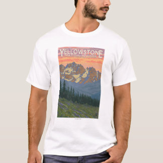 Spring Flowers - Yellowstone National Park T-Shirt