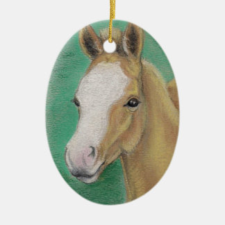 Spring Foal Christmas Ornament