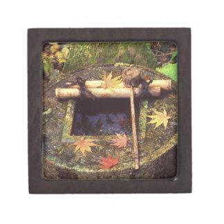 Spring for Tea Ceremony, Ryanji Temple, Kyoto, Gift Box