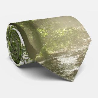 Spring Forest Mist Tie