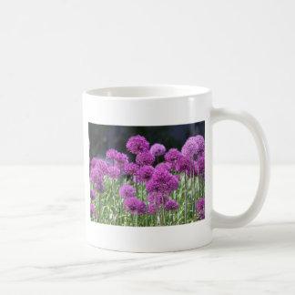 Spring Forest Purple Flowers of Garlic Coffee Mug