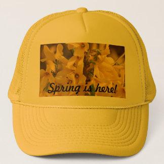 Spring Fortsythia Hat! Trucker Hat