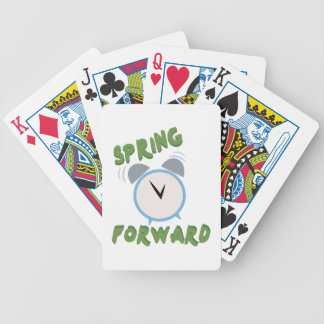 Spring Forward Bicycle Playing Cards