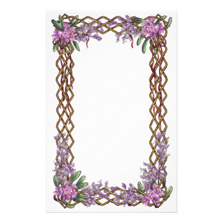 Spring frame stationery