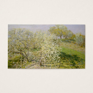 Spring (Fruit Trees in Bloom) Claude Monet Business Card
