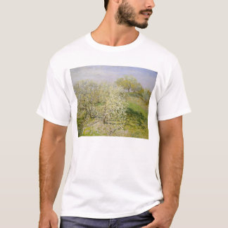 Spring (Fruit Trees in Bloom) Claude Monet T-Shirt