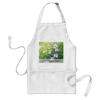 Spring Garden Blues - Creeping Phlox Adult Apron