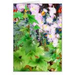 Spring Garden Bouquet Card