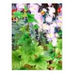 Spring Garden Bouquet Post Card