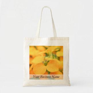 Spring Garden - Cheiranthus allionii Tote Bag