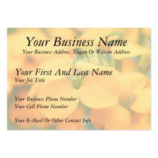 Spring Garden - Cheiranthus allionii Business Cards