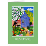 'Spring Garden' Easter Card - Swedish Greeting