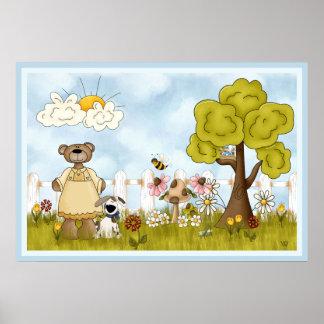 Spring Garden Fun Poster