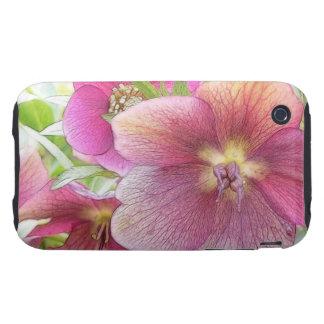 Spring Garden - Hellebore Flowers iPhone 3 Tough Cover