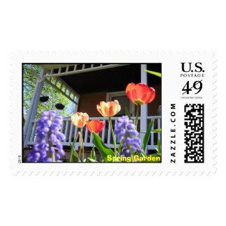 Spring Garden postage