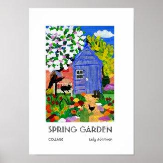'Spring Garden' Poster Print