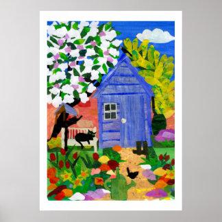 """""""Spring Garden"""" Print or Poster"""