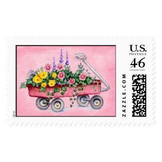 Spring Garden Wagon Postage