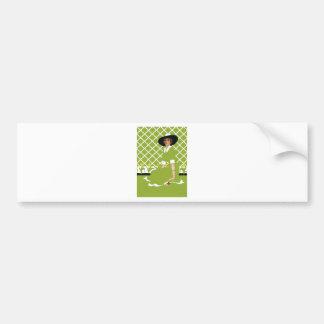 Spring Gardener Bumper Sticker