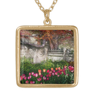 Spring - Gate - My Spring garden Gold Plated Necklace