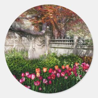 Spring - Gate - My Spring garden Sticker