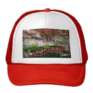 Spring - Gate - My Spring garden Trucker Hat