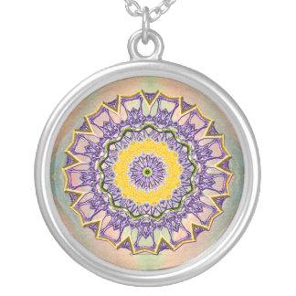 Spring Gem Mandala Pendant