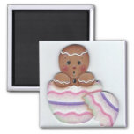 Spring Gingerbread Baby Just Hatched Refrigerator Magnets