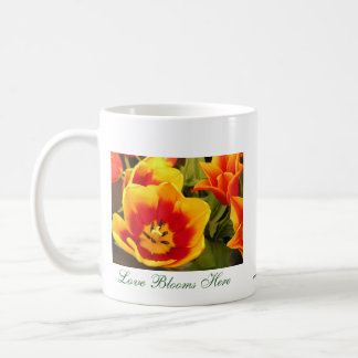 Spring Glory, Spring Glory, L'amour Fleurit Ici... Classic White Coffee Mug