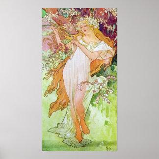 Spring Goddess Print